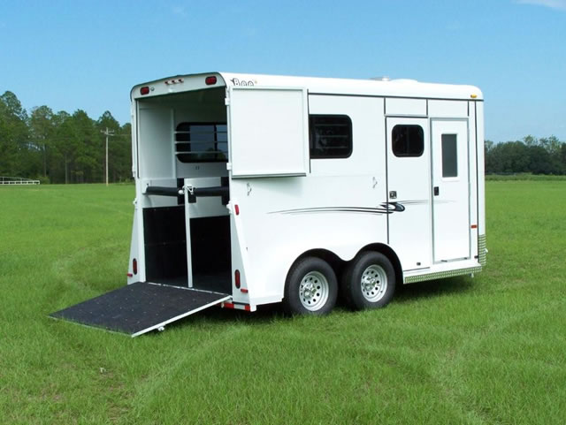 2 Horse Thoroughbred Classic Bee Horse Trailers